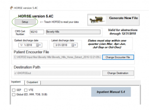 Initial setup of HORSE to read data – Advancing Simplicity